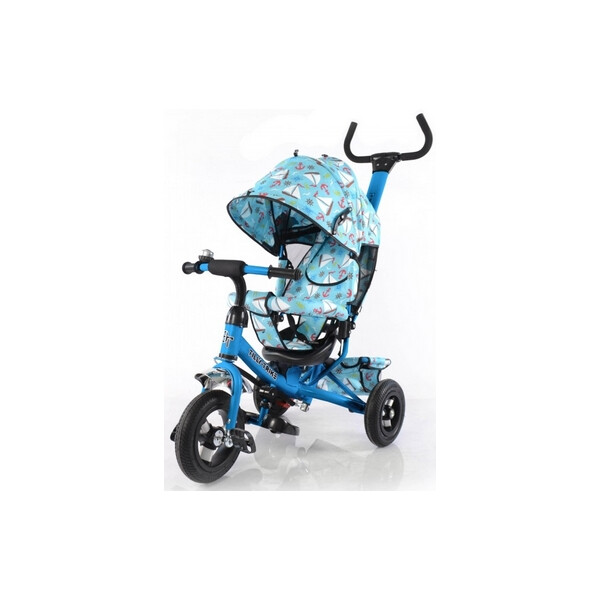 Купить Велосипеды, Велосипед трехколесный Baby Tilly Trike - 12 , голубой (T-351-9 LIGHT BLUE)