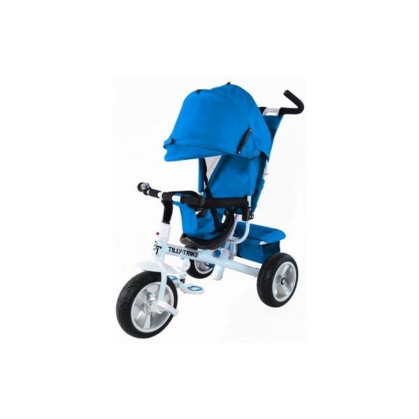 Купить Велосипеды, Велосипед трехколесный Baby Tilly Trike - 12 , голубой (T-371 LIGHT BLUE)
