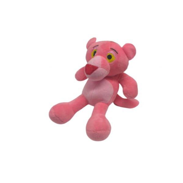 Купить Мягкие игрушки, Мягкая игрушка 1437-1 детский зоопарк Розовая пантера, Мир игрушек