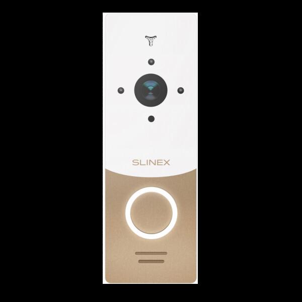 Купить Панели вызова, Вызывная панель Slinex ML-20HD Gold + White