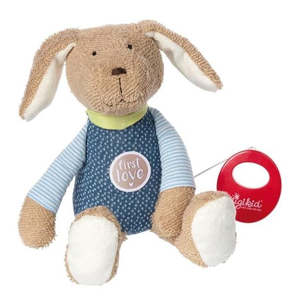 Купить Мягкие игрушки, Мягкая музыкальная игрушка sigikid Собачка 26 см 38791SK