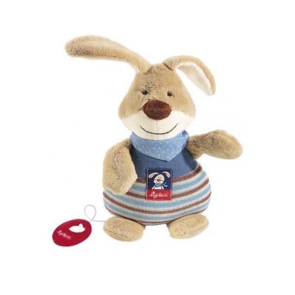 Купить Мягкие игрушки, Мягкая музыкальная игрушка sigikid Кролик 25 см 47894SK
