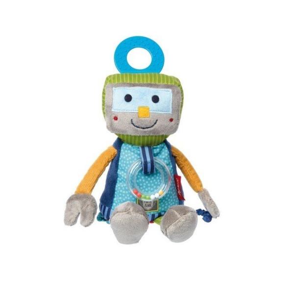 Купить Мягкие игрушки, Мягкая интерактивная игрушка sigikid Робот 25 см 41673SK