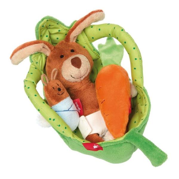 Мягкие игрушки, Мягкая игрушка sigikid Люлька для кролика 41687SK  - купить со скидкой