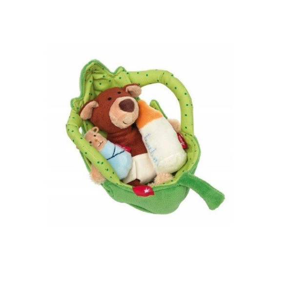 Купить Мягкие игрушки, Мягкая игрушка sigikid Люлька для мишки 41688SK