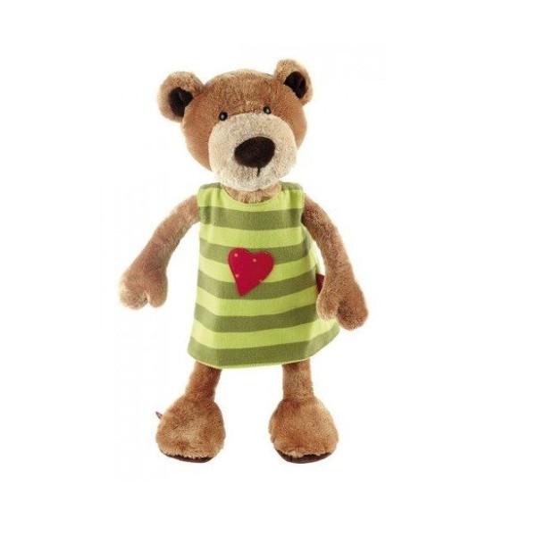 Купить Мягкие игрушки, Мягкая игрушка sigikid Мишка в платье 40 см 38407SK