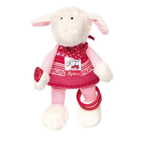 Купить Мягкие игрушки, Мягкая игрушка sigikid Овечка 26 см (41465SK)