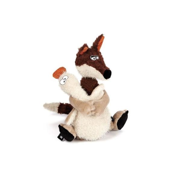 Купить Мягкие игрушки, Мягкая игрушка sigikid Beasts Лис и утка 21 см (38361SK)