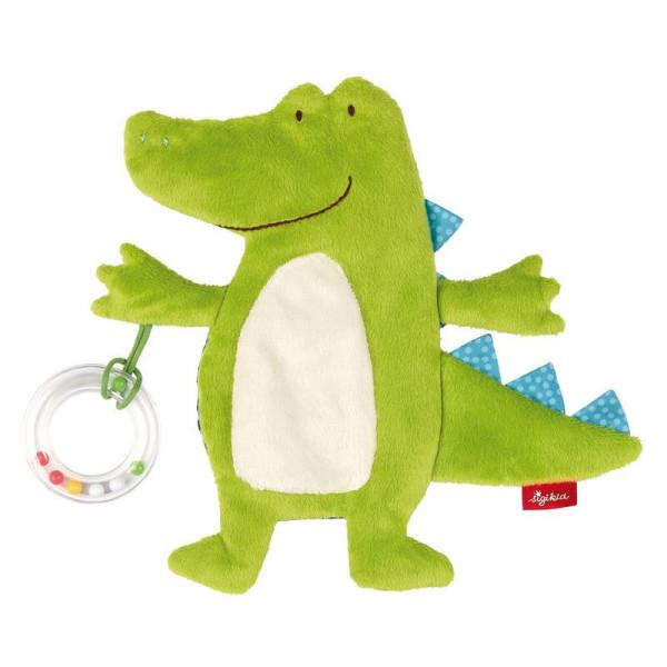 Купить Мягкие игрушки, Мягкая шуршащая игрушка sigikid Крокодил 20 см (41880SK)