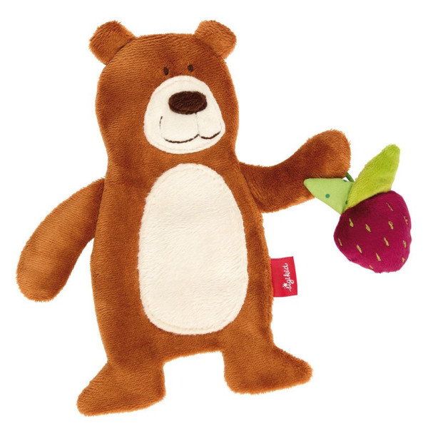 Купить Мягкие игрушки, Мягкая шуршащая игрушка sigikid Мишка 20 см (41879SK)