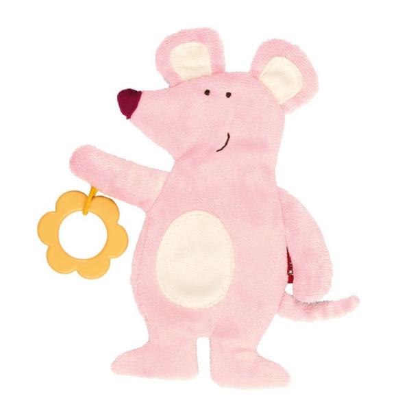 Купить Мягкие игрушки, Мягкая шуршащая игрушка sigikid Мышка 19 см (41878SK)