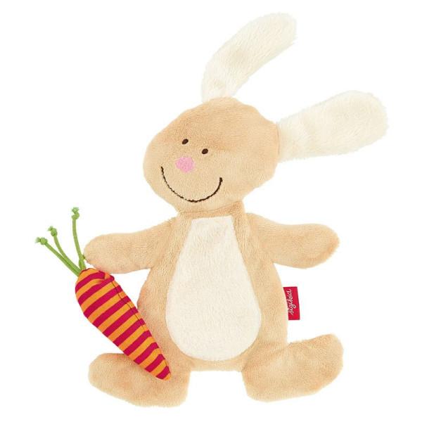 Мягкие игрушки, Мягкая шуршащая игрушка sigikid Кролик 18 см (40675SK)  - купить со скидкой