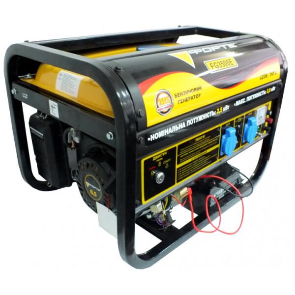 Купить Генераторы, Генератор бензиновый Forte FG3500Е 2.5 кВт