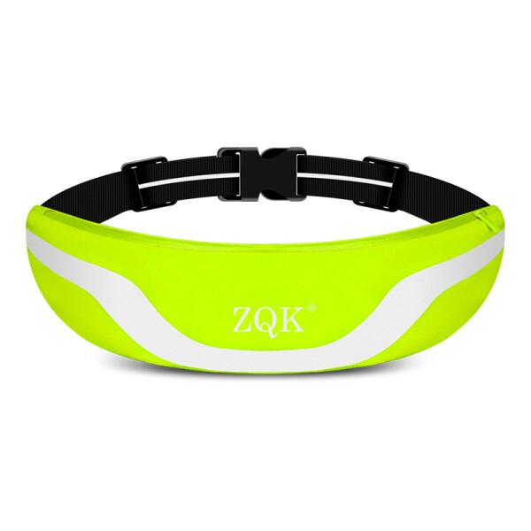 Купить Сумки спортивные и чехлы, Сумка для бега, сумка на пояс ZQK (Салатовый)