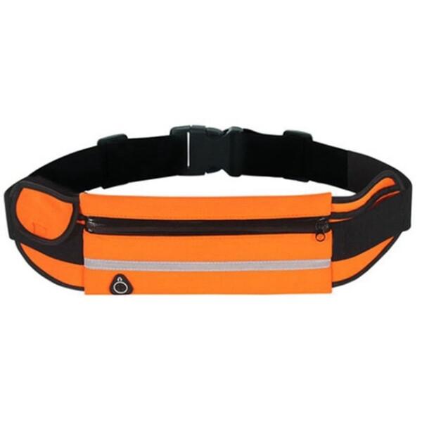 Купить Сумки спортивные и чехлы, Сумка на пояс спортивная, сумка для бега J&B (Оранжевый), JB