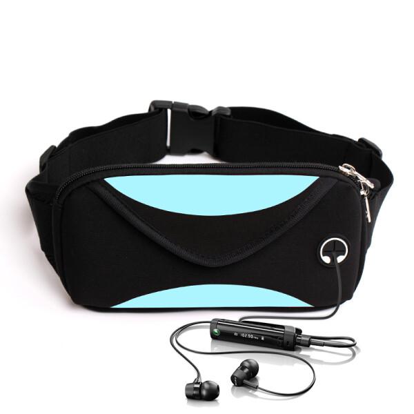 Купить Сумки спортивные и чехлы, Сумка на пояс, сумка для бега Enve (Голубой)
