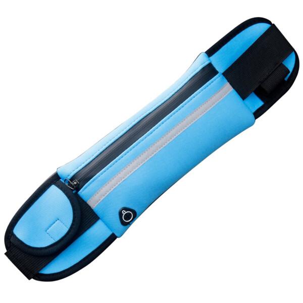 Купить Сумки спортивные и чехлы, Сумка на пояс спортивная, сумка для бега J&B (Голубой), JB
