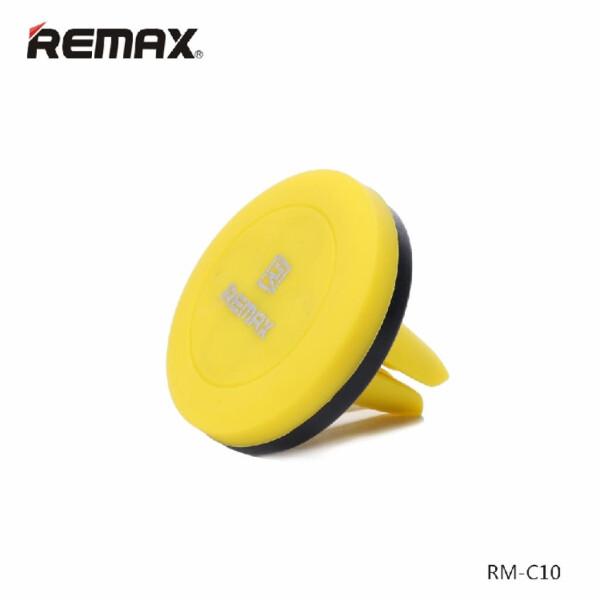 Купить Держатели, Автодержатель для телефона Remax Car Holder RM-C10 Black/Yellow