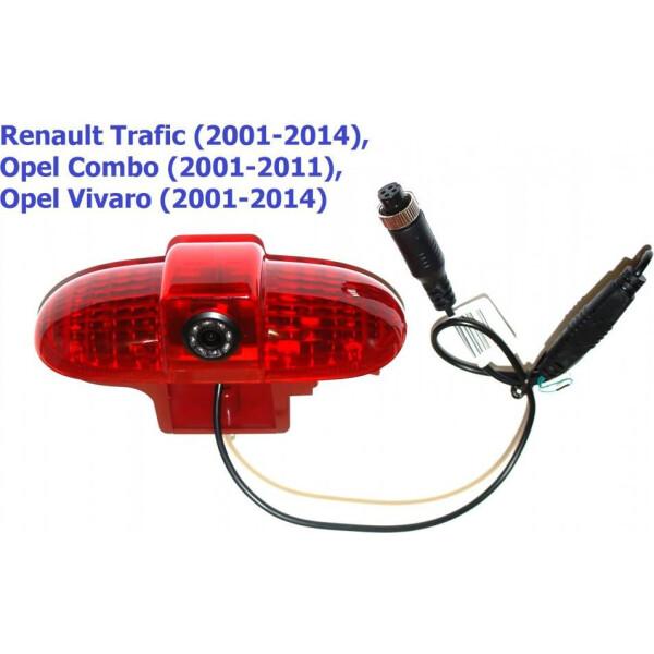 Купить Системы видеопарковки, Камера заднего вида Baxster BHQC-905 Renault Traffic II, Opel Vivaro I