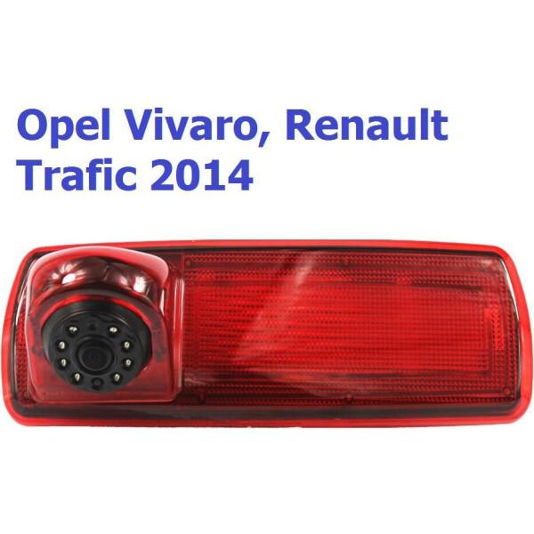 Купить Системы видеопарковки, Камера заднего вида Baxster BHQC-907 Renault Traffic III, Opel Vivaro II