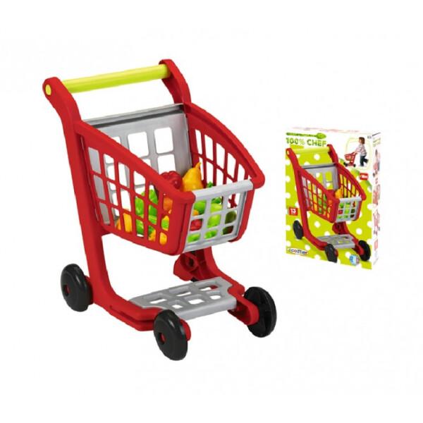 Купить Игровые наборы, Тележка для супермаркета Ecoiffier Тележка для супермаркета (001225)