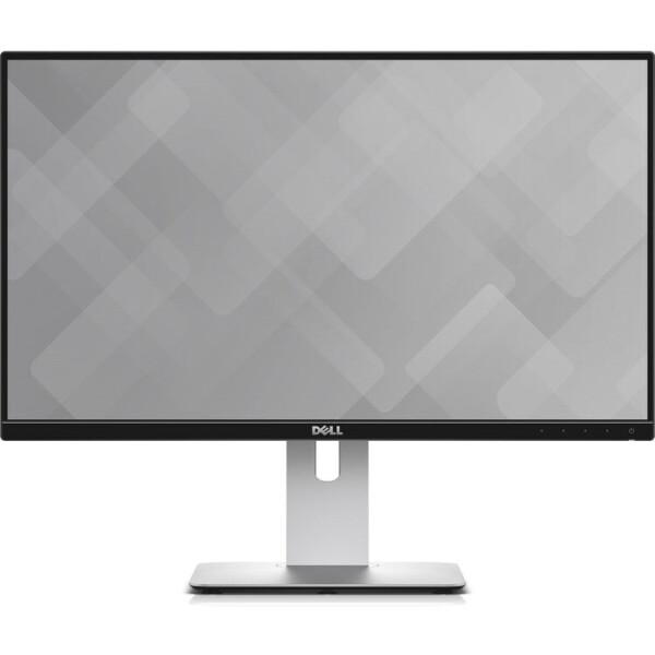Купить Мониторы, 24 Dell U2417H (210-AHJK) Black / Grey