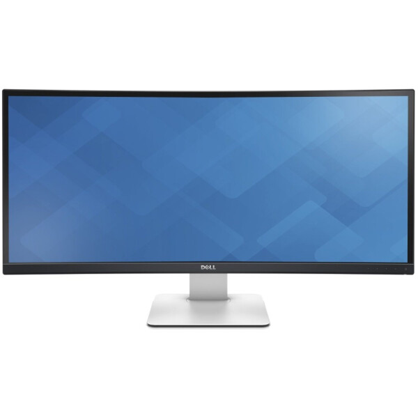 Купить Мониторы, 34 Dell U3415W (210-ADYS) Black