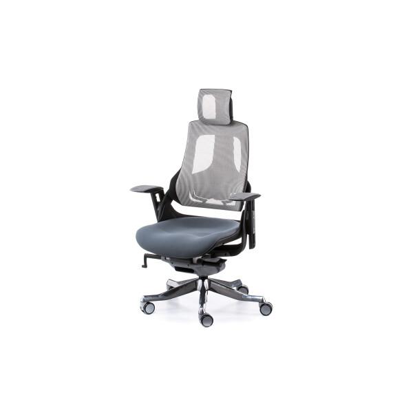 Кресло офисное Special4You Wau Fabric Nеtwork Snowy-Slatеgrey (E0796)