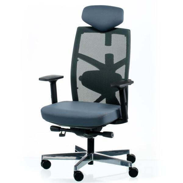 Кресло офисное Special4You Tune Slategrey Black (E5494)