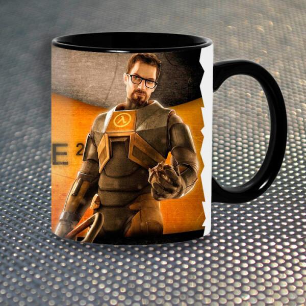 Купить Чашки и кружки, Чашка Gifty Гордон Фримен Half-Life 3 (1136)