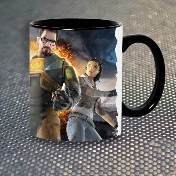 Чашки и кружки, Чашка Gifty Халф Лайф Half-Life (1141)  - купить со скидкой