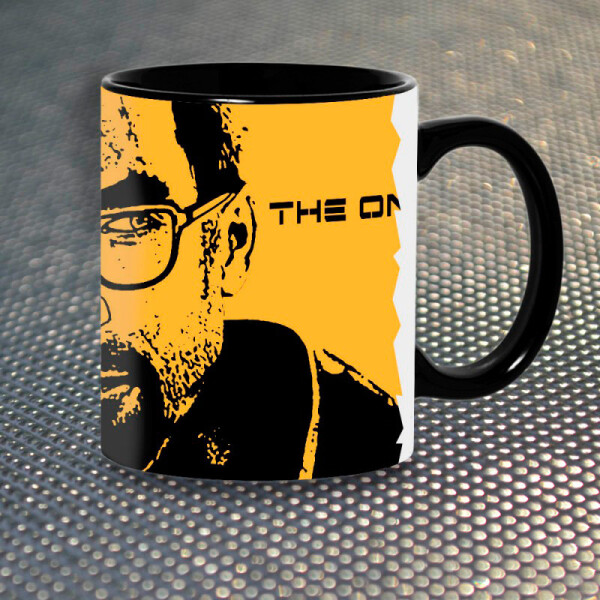 Купить Чашки и кружки, Чашка Gifty Freeman Half-Life (1148)