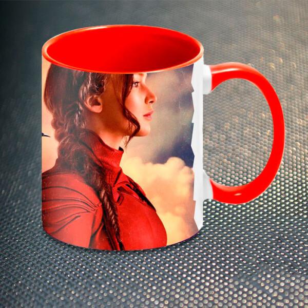 Купить Чашки и кружки, Чашка Gifty Китнисс Голодные Игры The Hunger Games (5248)