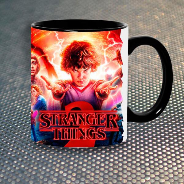 Купить Чашки и кружки, Чашка Gifty Одиннадцать Очень Странные Дела Худи Stranger Things (5321)