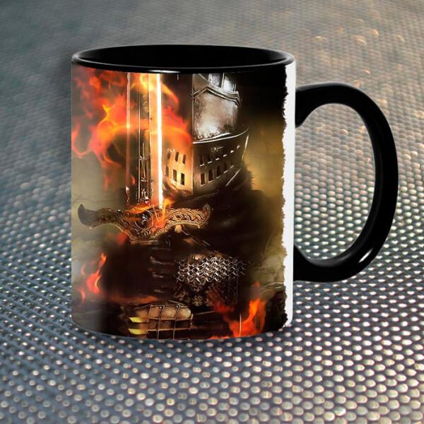 Купить Чашки и кружки, Чашка Gifty Рыцарь Dark Souls (6793)