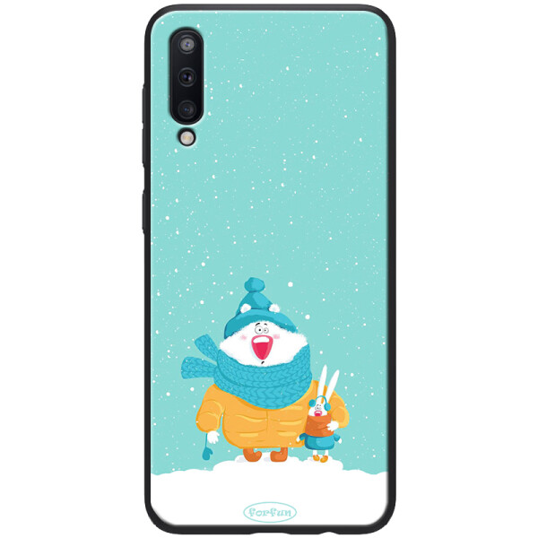 Купить Чехлы для телефонов, Противоударный Чехол накладка Epik ForFun NEW для Samsung Galaxy A50 Медведь и заяц