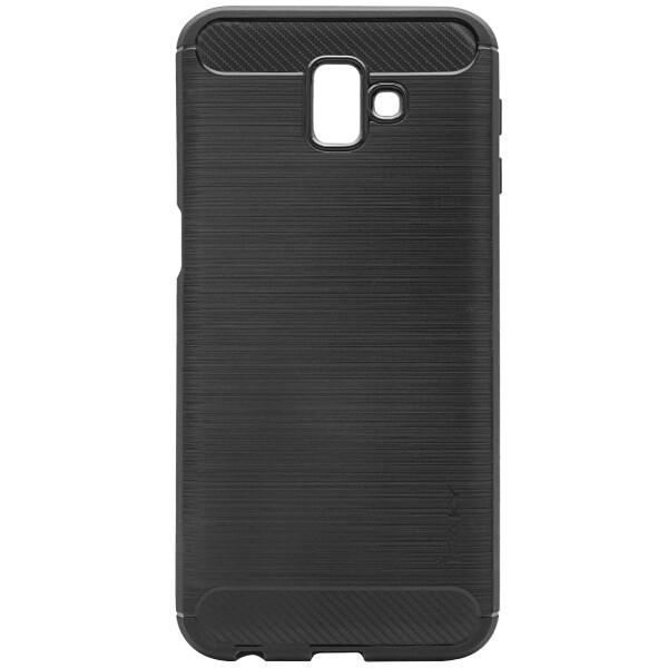 Купить Чехлы для телефонов, Противоударный TPU Чехол накладка iPaky Slim Series для Samsung Galaxy J6 Plus + 2018 J610F Черный / Black