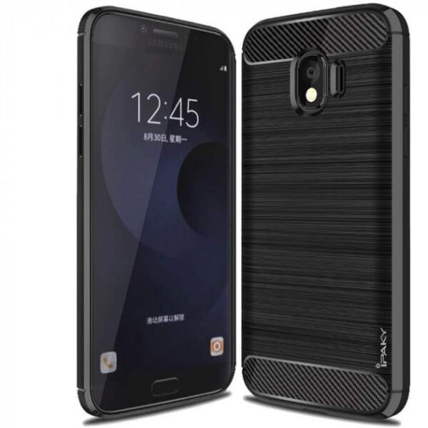 Купить Чехлы для телефонов, Противоударный TPU Чехол накладка iPaky Slim Series для Samsung J400F Galaxy J4 2018 Черный / Black