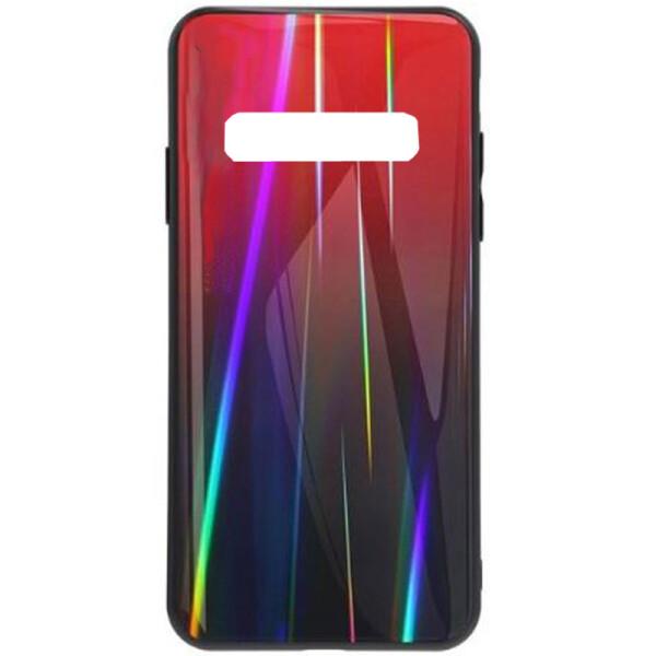Купить Чехлы для телефонов, Противоударный Чехол накладка Epik Gradient Aurora NEW для Samsung Galaxy S10 Красный
