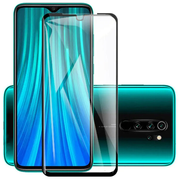 Купить Защитные стекла, Противоударное Защитное стекло Epik 3D 9H Full Glue NEW для Xiaomi Redmi Note 8 Pro Прозрачный / Черный