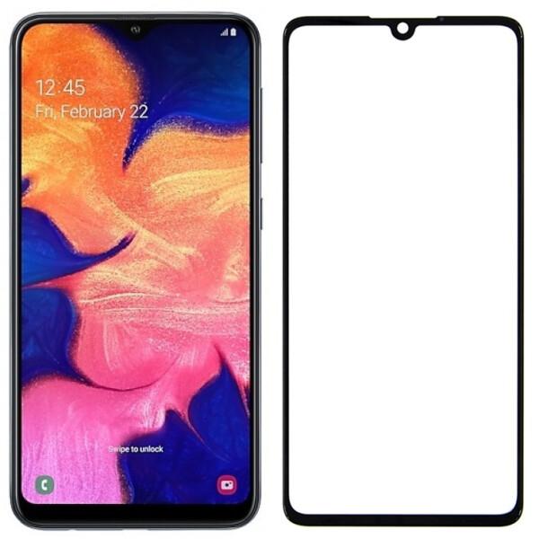 Купить Защитные стекла, Противоударное Защитное стекло Epik 3D 9H Full Glue NEW для Samsung Galaxy A10 Прозрачный / Черный