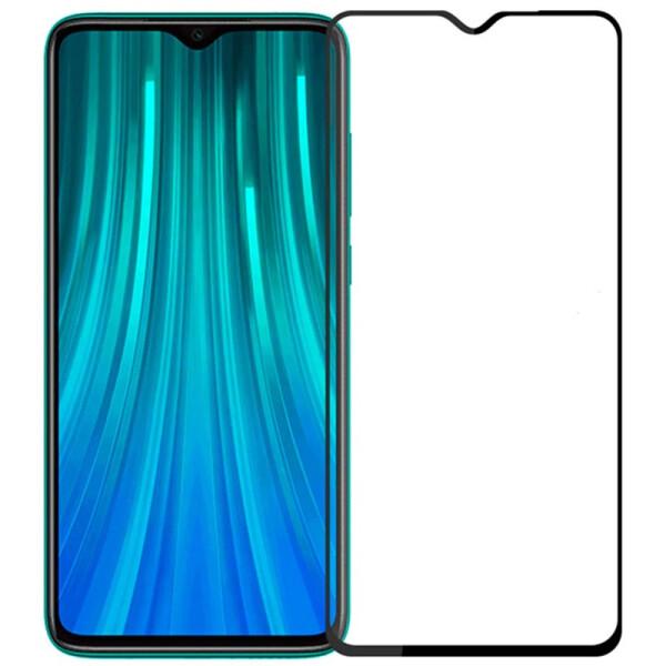 Купить Защитные стекла, Противоударное Гибкое защитное стекло Nano NEW full glue для Xiaomi Redmi Note 8 Pro Ультратонкое Прозрачное, Epik
