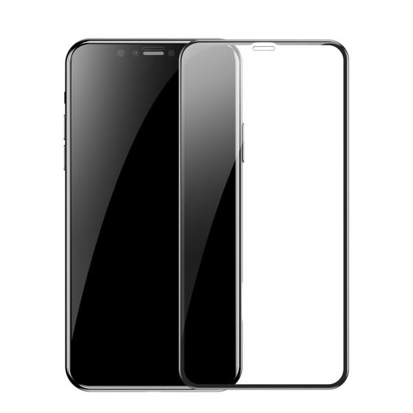 Купить Защитные стекла, Противоударное Защитное стекло Epik 4D 9H Full Glue NEW для Apple iPhone 11 Pro (5.8 ) Прозрачный / Черный