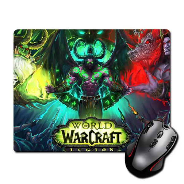 Купить Коврики для мышки, Игровая поверхность Варкрафт Легион World of Warcraft: Legion 220 х 180 мм (596), Nextprint