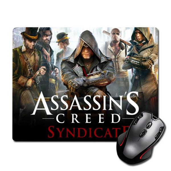 Купить Коврики для мышки, Игровая поверхность Кредо ассасина: Синдикат Assassins Creed Syndicate 220 х 180 мм (2005), Nextprint