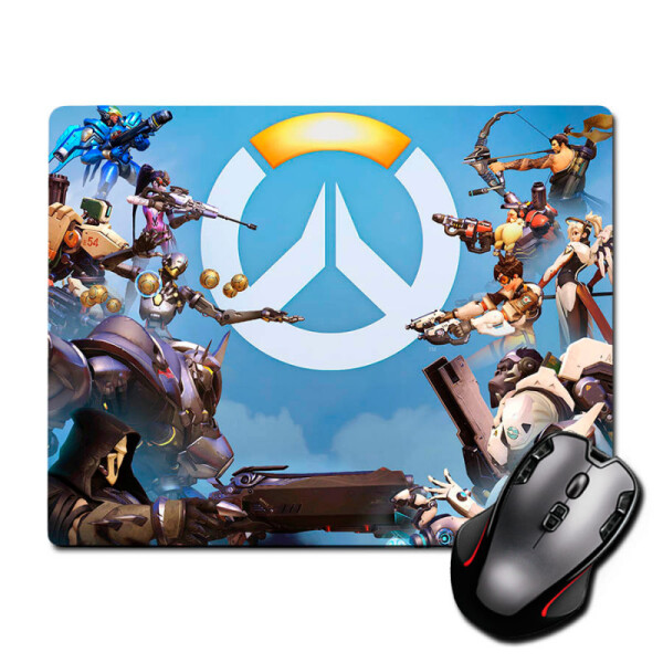 Купить Коврики для мышки, Игровая поверхность Лого Овервотч Logo Overwatch 300 х 250 мм (822555), Nextprint
