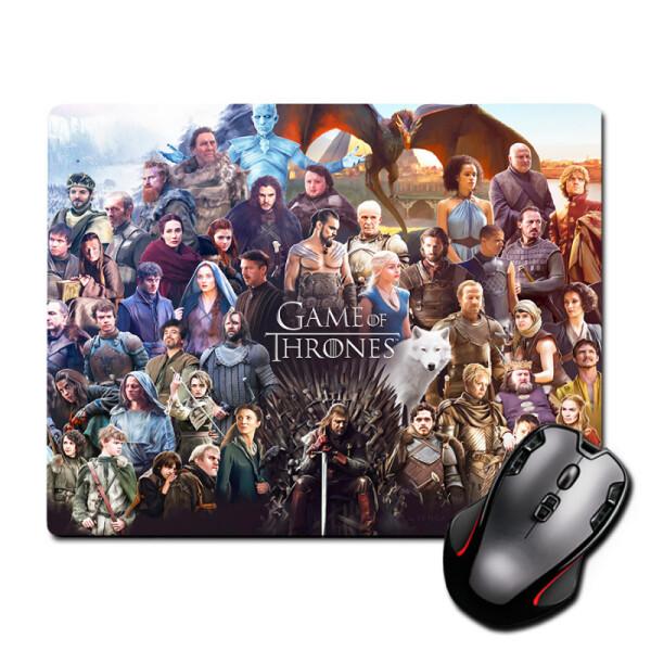 Купить Коврики для мышки, Игровая поверхность Лого Старк Logo Stark Game of Thrones 300 х 250 мм (823117), Nextprint