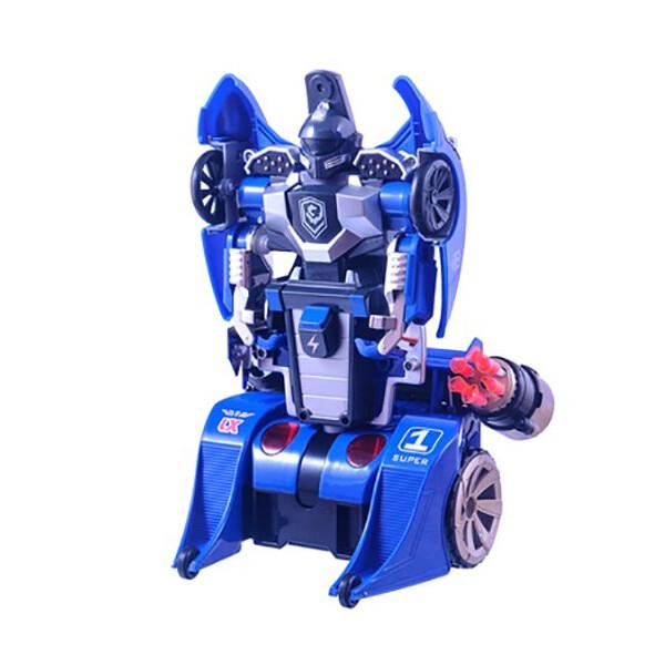 Купить Радиоуправляемые модели, Трансформер на радиоуправлении LX9065 Knight (синий), LX Toys