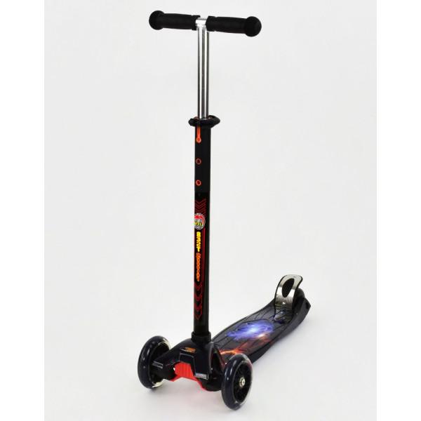 Купить Самокаты, Самокат Scooter Maxi S779 Черный космос