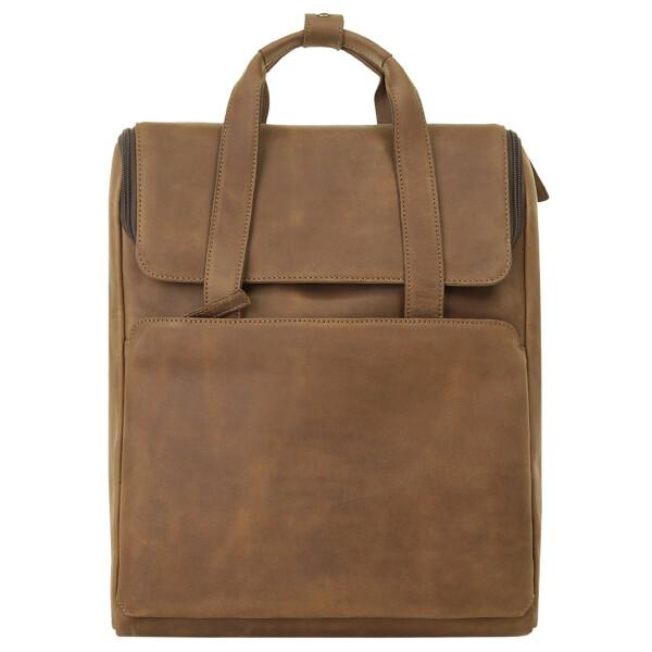 Купить Рюкзаки, Кожаный рюкзак Harold's коньячный один размер